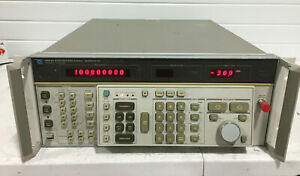 HP 8662A Synthesized Signal Generator, 10kHz-1280MHz Opt 001 and 003  unit # 2