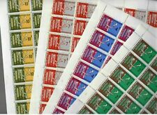 S31805) Rwanda 1963 MNH Fao Fighting Against Hunger 4v Full Sheets
