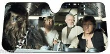 NEW! Star Wars Millennium Falcon Car Auto Windshield Sun Shade Sunshade Screen