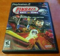 Pinball Hall of Fame The Williams Collection Sony PlayStation 2 PS2 Crave