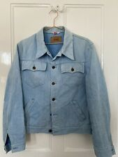 Vintage Levis chaqueta tamaño años 70 no Lvc 44 L azul claro