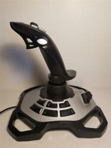 Logitech Extreme 3D Pro Twist Handle Gaming Joystick Silver Black