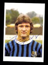 Heinz Traser 1 FC Saarbrücken Bergmann 1977-78 Original Signiert + A 100536