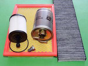 gr. Inspektionspaket Filterset Filtersatz VW Sharan Seat Alhambra 1.9 & 2.0 TDI