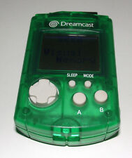 Genuine Green Sega Dreamcast VMU Memory Card Official Preloved Japanese No Lid