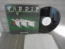 VARDIS VIGILANTE Raw Power LP . ULTRA-RARE METAL RAWLP022 1986