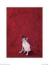DOG ART PRINT Lucky Legsie Sam Toft