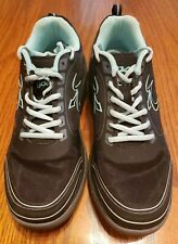 Gdefy Gravity Defyer Comfort Fit TB9022FTL-W Shoes Black Teal size  9.5