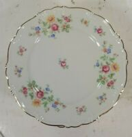 "Vintage Edelstein Bavaria Queen's Rose Salad/Dessert Plate 8"" 8pcs."