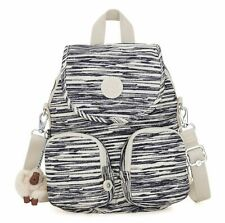 kipling Firefly Up Small Backpack Scribble Lines