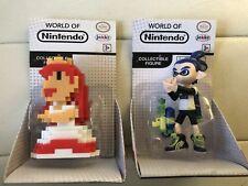 World of Nintendo 8-Bit Classic Princess Peach, Inkling Boy