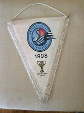 GAGLIARDETTO UFFICIALE UNIONE CALCIO ALBINOLEFFE 1998 CON COPPA ITALIA SERIE C
