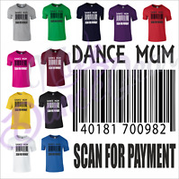 T Shirt Top Sarcastic Funny Dance Mum Gift Novelty Finance Mothers Day S - 2XL