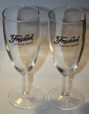 Freixenet cordon negro champagne promotion *flute* glass - set of 2 glasses