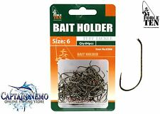 BRONZED BAIT HOLDER FISHING HOOKS SIZE: 6 QTY: 84PCS FORCE TEN TACKLE 8366