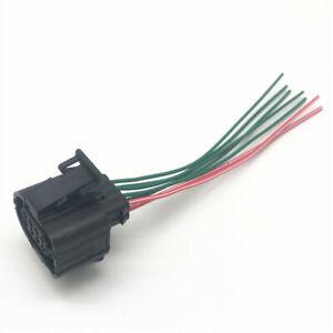 0EM 8 Pin Throttle Valve Sensor Connector Plug Pigtail For VW AUDI Seat Skoda