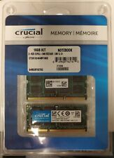 New listing Crucial By Micron Ct2K102464Bf186D 16Gb Kit 2X8Gb Pc3-14900 Ddr3 204Pin Sodimm