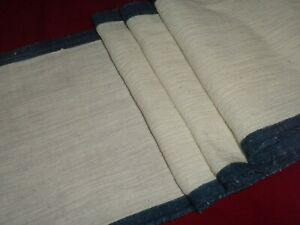 Antique Ottoman Hand Woven Homespun Primitive Linen Fabric**2 Meter**