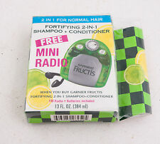 Garnier Fructis FM Radio Promotional Giveaway (E3R)