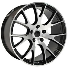 """20"""" Hellcat Style Wheels For Dodge Charger Magnum Challenger Chrysler 300 Rims"""