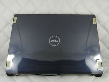 DELL STUDIO 1737 LCD REAR COVER MATTE BLUE W/HINGES ANTENNA P581X-N