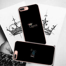 King Queen Couples Cell Phone Cases for iPhoneX 10 Samsung Huawei Xiaomi