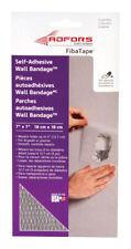 FibaTape 7in L x 7in W Fiberglass Mesh White Self Adhesive Wall Repair Patch
