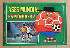 VINTAGE STICKER ALBUM ASES MUNDIAL SPAIN WORLD CUP 1982, INCOMPLETE