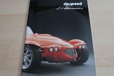 123146) Rinspeed Katalog / Prospekt 1995