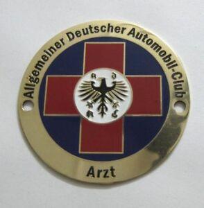 ADAC  - DOCTOR ARZT PHYSICIAN member Badge 1960 GRILL BADGE EMBLEM LOGOS