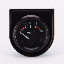 52mm Voltage Meter Gauge Voltmeter For Auto Car 8~16V LED Light DC 12V