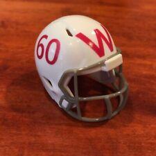 Wisconsin Badgers 1957-1966 2005 throwback custom pocket pro helmet