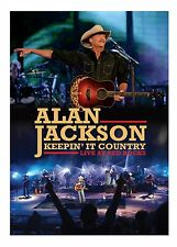 ALAN JACKSON New Sealed LIVE RED ROCKS COLORADO CONCERT DVD