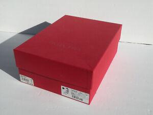"""Valentino Garavani Shoe Box 12"""" x 9"""" x 4.5"""" Rockstud Flair Sandal w/ extra studs"""