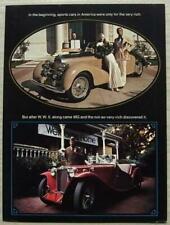 1973 MG Midget Car Sales Brochures