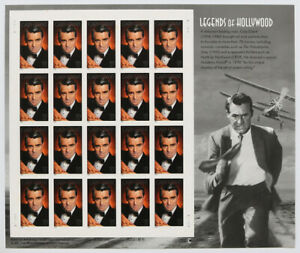37c Legends of Hollywood CARY GRANT Pane of 20 2002 Scott #3692