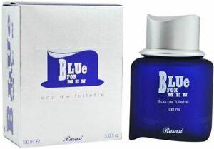 Blue For Men   Eau De Toilette 100ml   by Rasasi