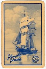 Playing Cards 1 Single Card Old PLAYERS PLEASE Cigarettes Advertising Smoking 2