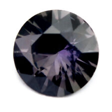 Certified Natural Unheated Multicolor Sapphire 0.62ct VVS 5.5mm Round Madagascar