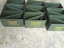 3 Us Military Surplus Ammo Cans 50 cal size 5.56 Can M2A1