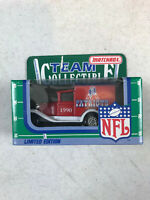 1990 Matchbox NFL Team Collectible New England Patriots Delivery Truck NFL-90-24