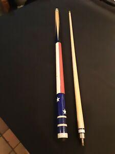 American Flag Pool Cue