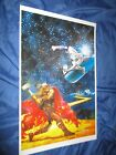 MARVEL ZOMBIES SIGNED Art Print by Arthur Suydam ~SILVER SURFER VS THOR (4)