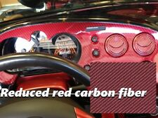 GLOSSY RED CARBON FIBER Hydrographics Dip Film Water Transfer Printing 0.5*2m