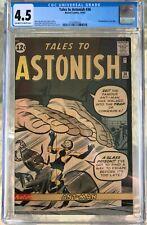 Tales to Astonish #36 (1962) CGC 4.5 -- O/w to white pages; 3rd Ant-Man; Lee