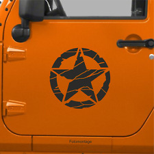1 40cm US Army Oldschool Hotrod US Aufkleber Auto Sticker Sticker Retro Sterne F