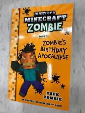 MINECRAFT BOOK 9 ZOMBIES LATEST DIARY OF A MINECRAFT BIRTHDAY APOCALYPSE BARGN 1