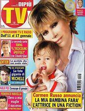 Dipiù Tv.Carmen Russo,Claudio Gioè,Michele Bravi,Flavio Parenti,Federico Novella