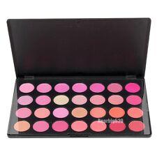28 Colors Makeup Blush Palette Blusher Powder Bronze Cheek Makeup Cosmetic Box