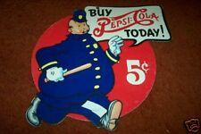 "PEPSI  Heavier 11 x 12 1/2"" cardboard Vintage 50's?"